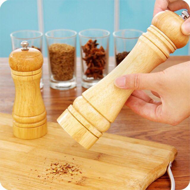 نمک ساب و فلفل ساب چوبی