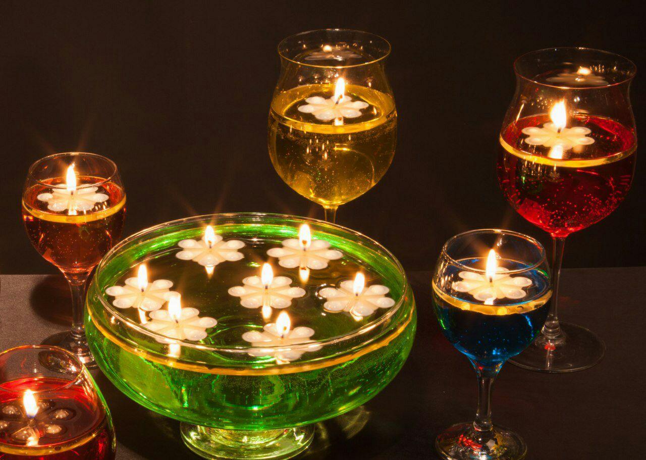 روشنایی بی پایان با شمع ونوس