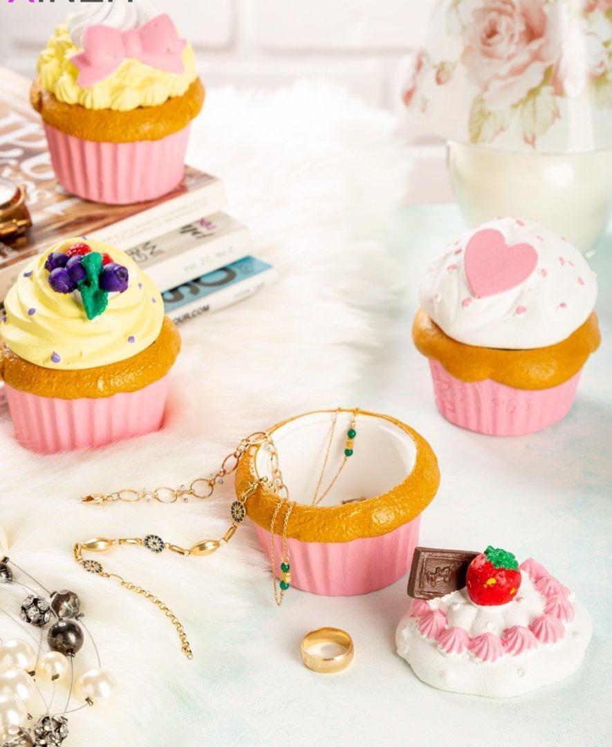 جا جواهراتی طرح کاپ کیک