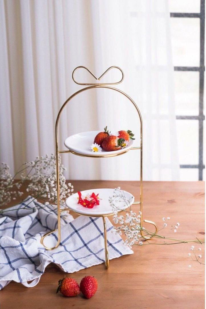 شیرینی خوری دو طبقه طرح پاپیون