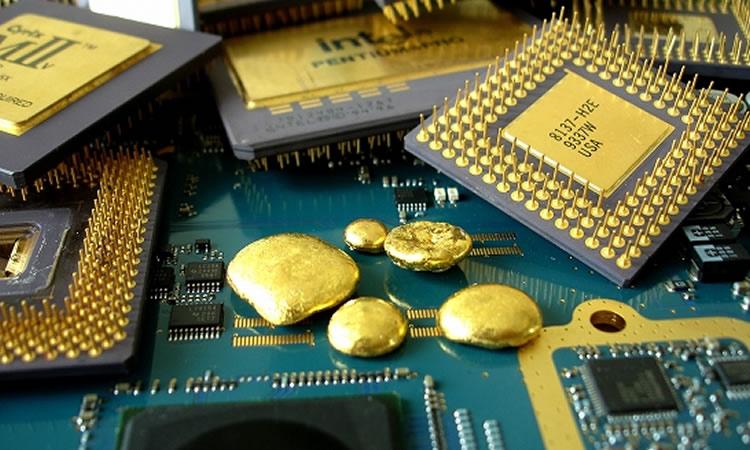 سی دی آموزش استخراج طلا از قطعات الکترونیکی و برد موبایل از صفر درصد تا 100 درصد
