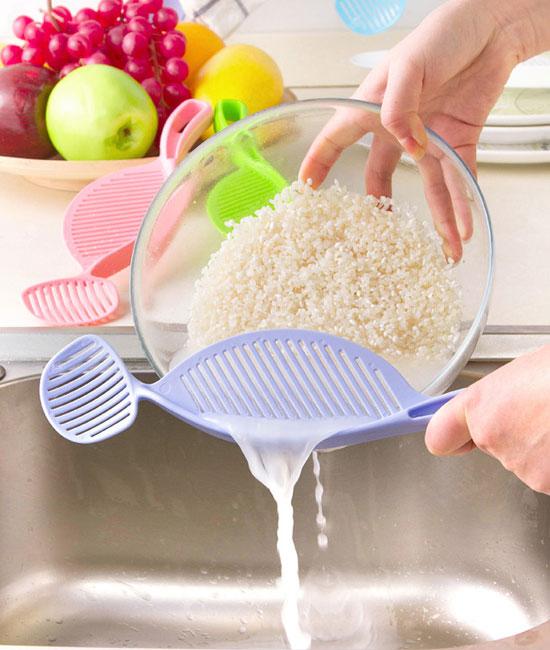 کفگیر و همزن برنج