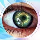 متخصص چشم,لنز طبی,لنز رنگی
